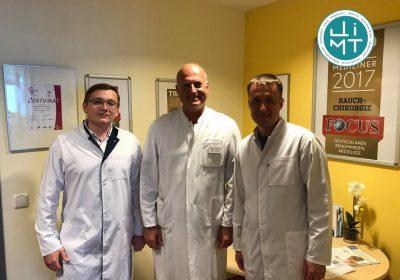 Наші провідні хірурги повернулися зі стажування, що проходило у Німеччині