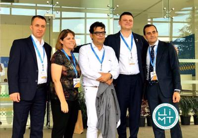 Фахівці ЦІМТ представили наш центр на Міжнародному конгресі з лапароскопічної хірургії в Індії