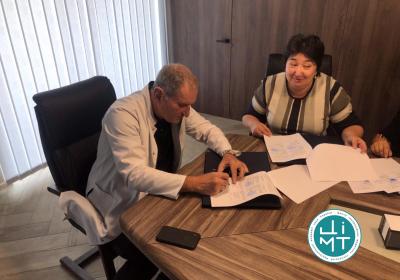 ЦІМТ НАН України та Ташкентський Інститут удосконалення лікарів підписали Меморандум про співробітництво