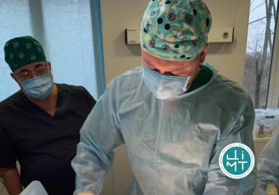 Ортопеди ЦІМТ провели процедуру інноваційної регенеративної медицини