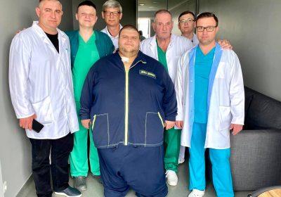 Найважча людина України – 316 кг
