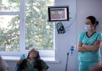 На базі ЦІМТ відбувся практичний курс для лікарів –анестезіологів «Високопотокова оксигенація в умовах операційної та у відділені інтенсивної терапії»