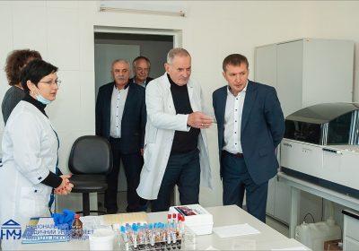 Відбулася зустріч директора ЦІМТ Івана Тодурова з керівництвом Національного медичного університету ім. Богомольця